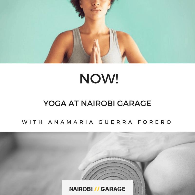 Increase Productivity with Yoga at Nairobi Garage