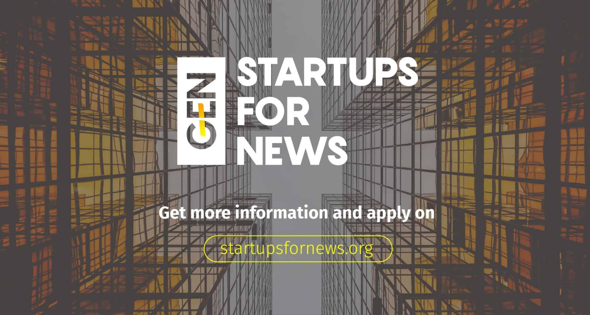 Startups for News 2018