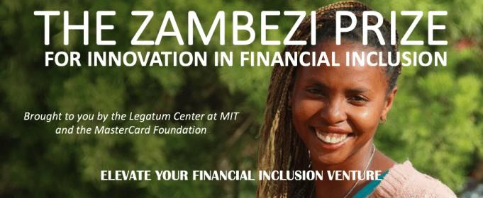 Zambezi prizefor Innovation in Financial Inclusion