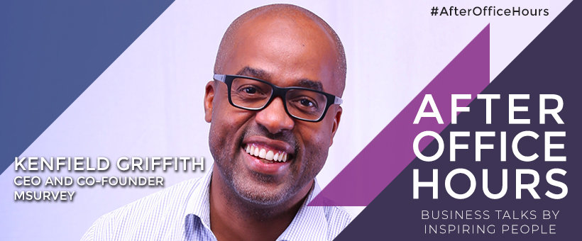 Kenfield Griffith CEO and Co-founder, mSurvey