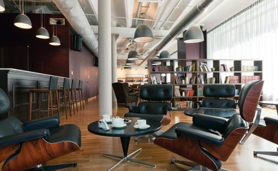 Cabinet Lounge CO-WORKING SPACE IN MOSCOW