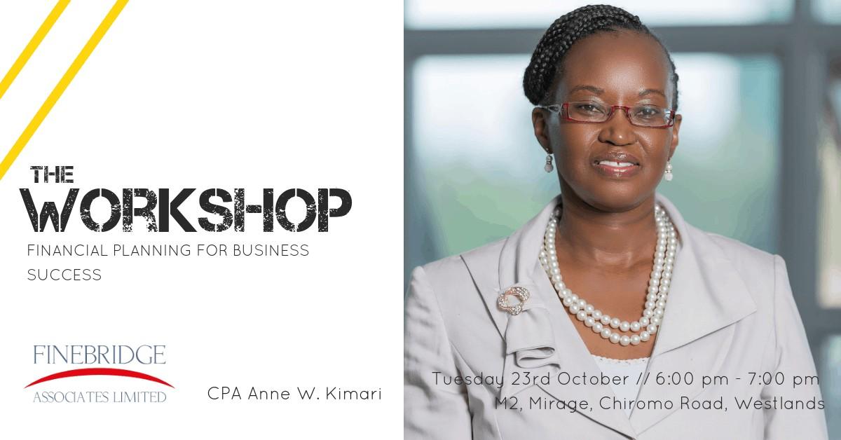 Financial Planning Workshop in Nairobi