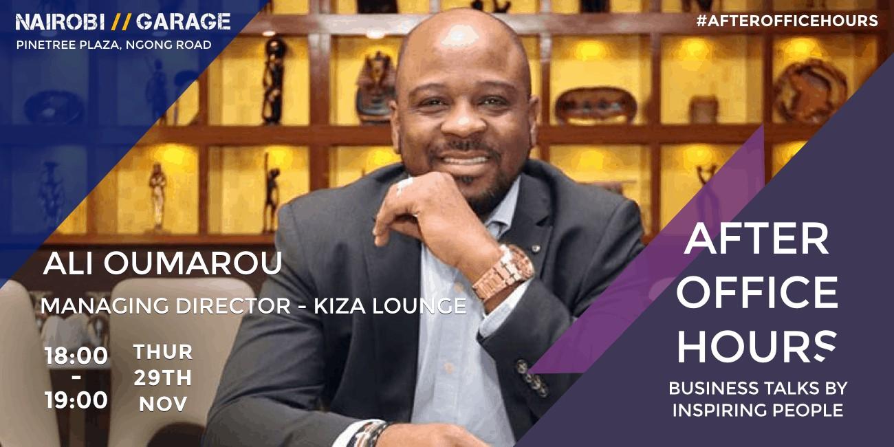 Ali Oumarou, Managing Director Kiza Lounge