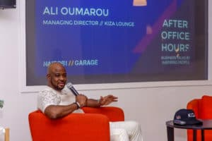 Ali Oumarou owner of kiza lounge