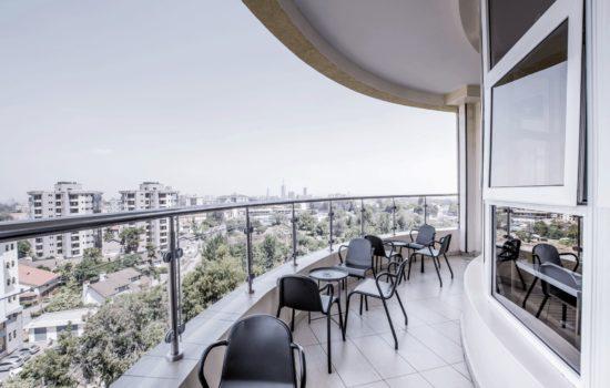 Pinetree Interior balcony