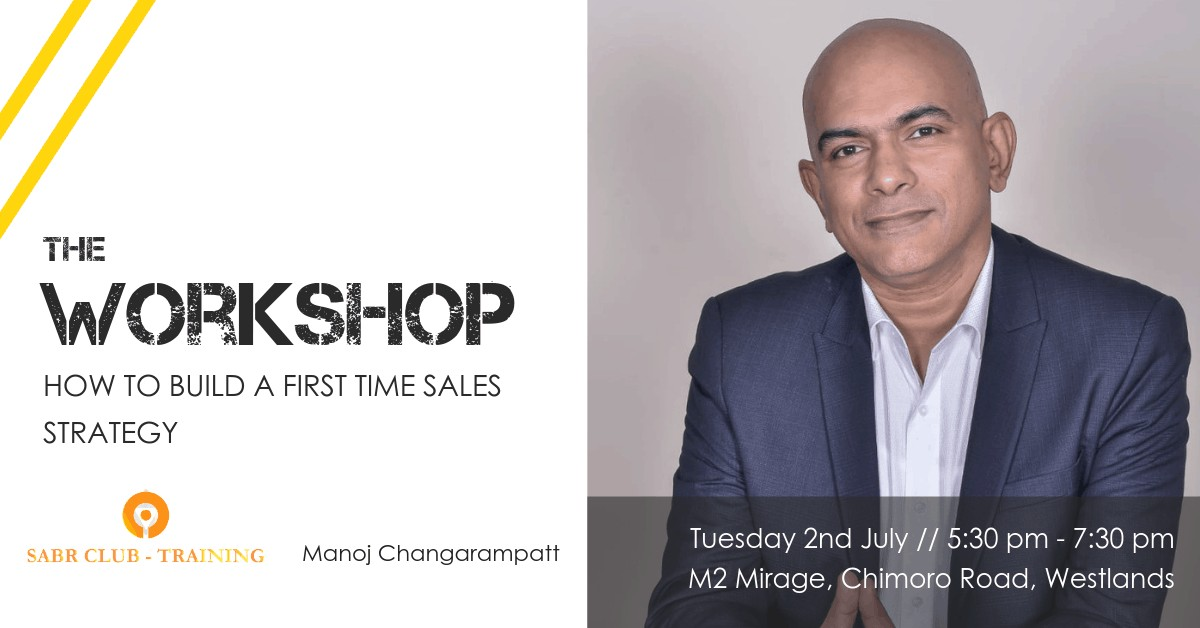 Sales workshop in Nairobi
