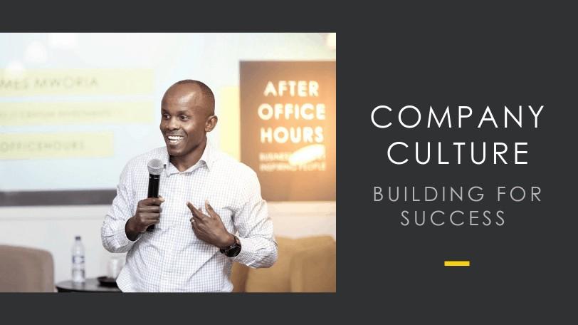 James Mworia gives a talk in Nairobi Garage