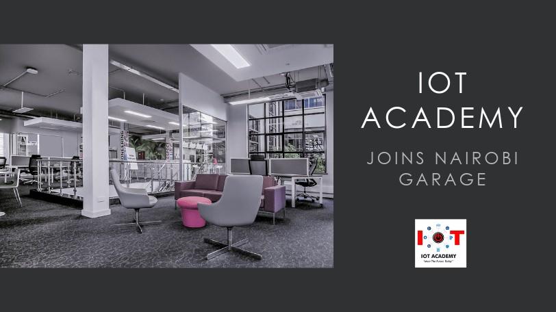 IoT Academy mambers in nairobi Garage