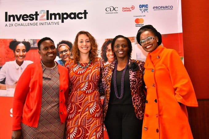 +Women led businesses in Africa