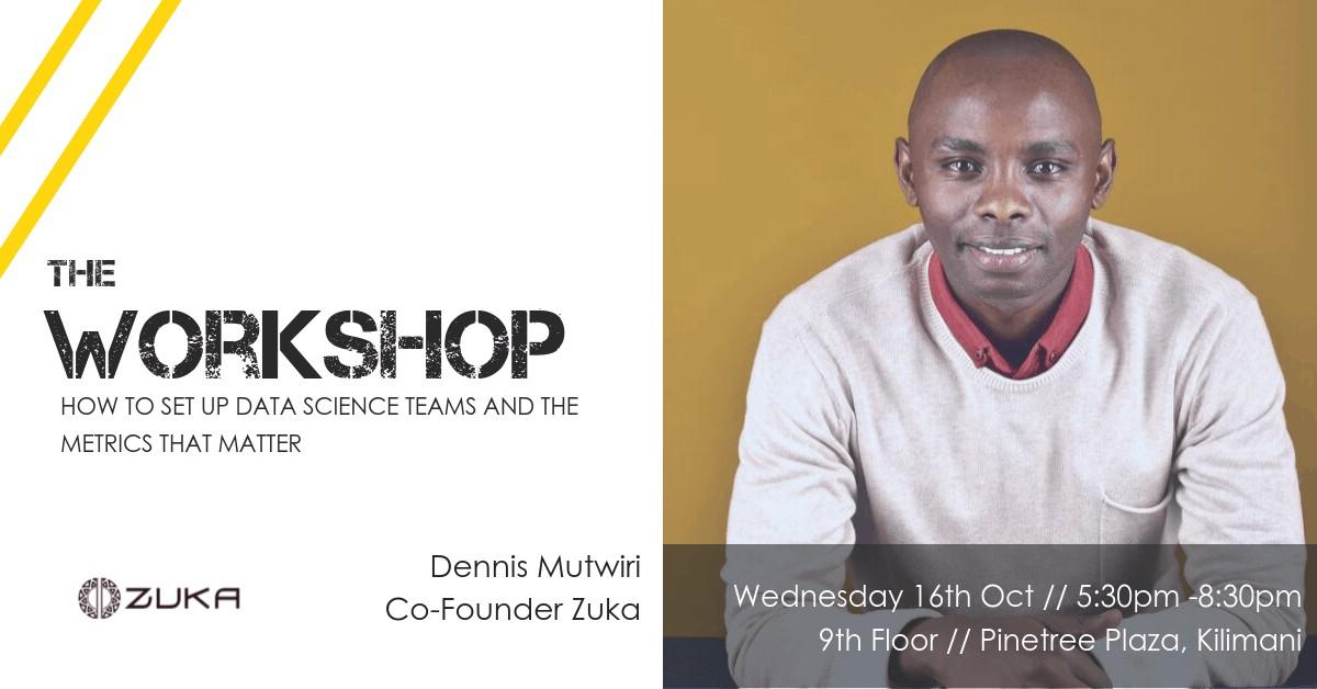 Data Science workshop in Nairobi