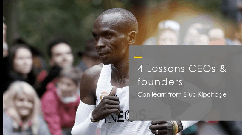 lessons from eliud kipchoge