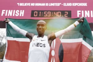 4 lessons from Eliud kipchoge