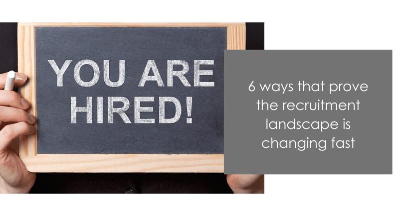 recruitment landscape in 2020