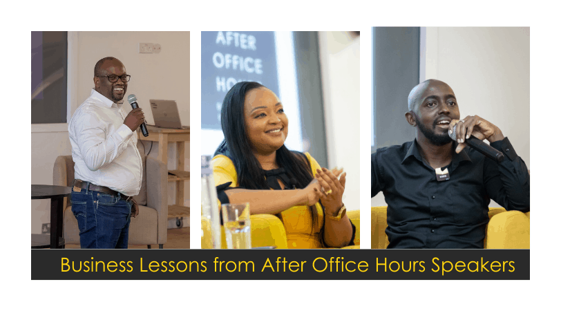 After Office Hours // 5 Business Lessons by Our Speakers