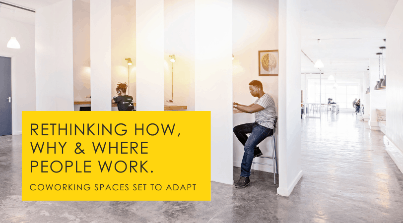 Coworking Spaces // 5 Practical Future-of-Work Adaptations