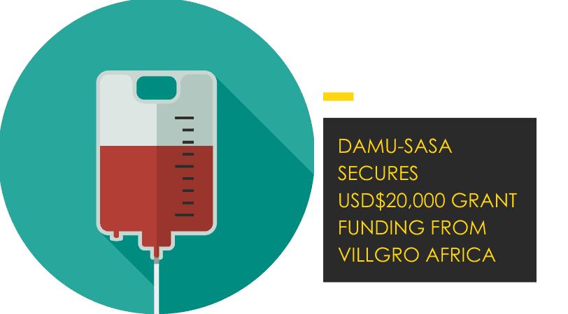 Villgro Africa Grants USD$ 20,000 to Kenyan e-health Startup Damu-Sasa