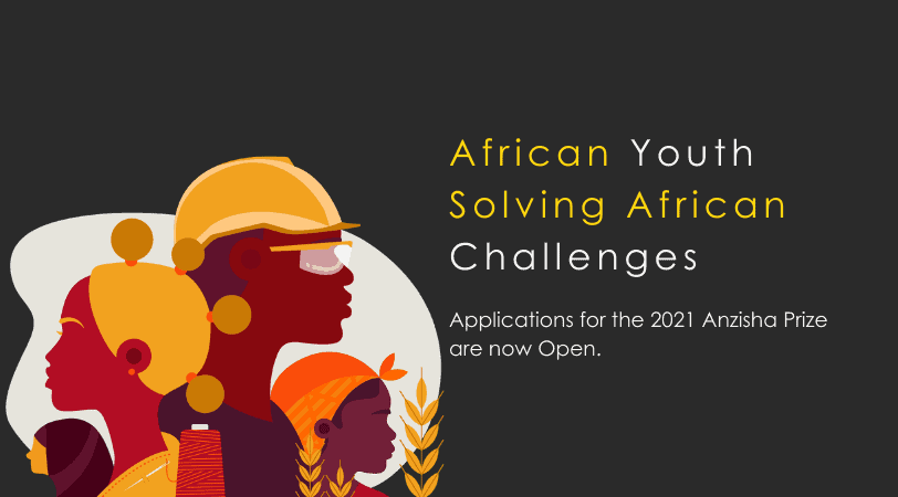 Anzisha Prize 2021 // Solving Africa's Employment Climate