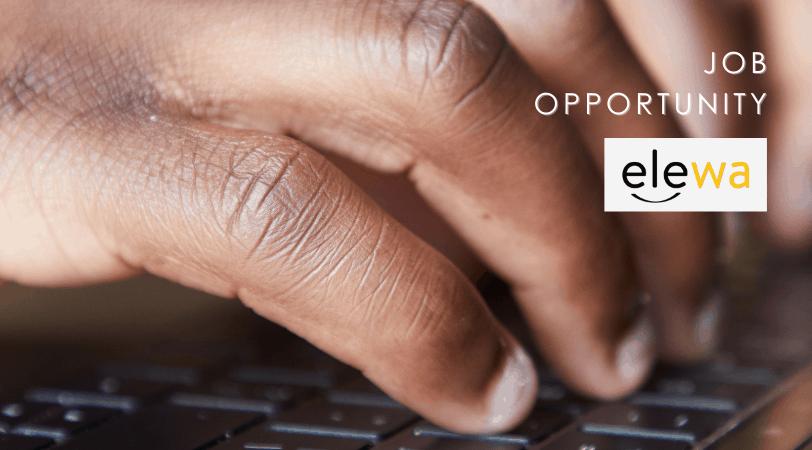 Elewa Job Opportunity