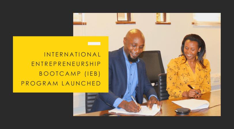 Intl. Entrepreneurship Bootcamp (IEB) // Zidicircle & The BHUB Partner