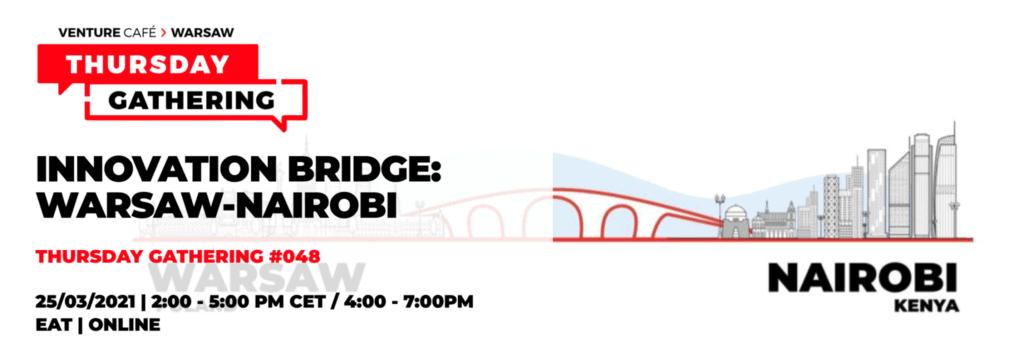 Venture Café WarsawInnovation Bridge: Warsaw - Nairobi Event Poster