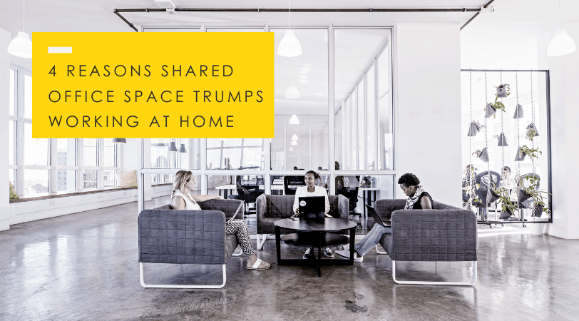 Shared Office Space // Why It's Better than Work-From-Home