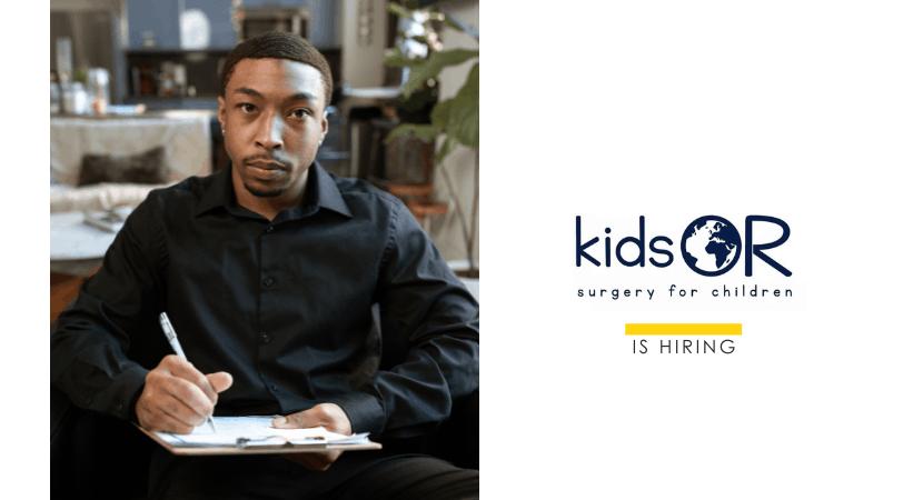 #IkoKazi KidsOR // Communications Officer. Apply by 14th May