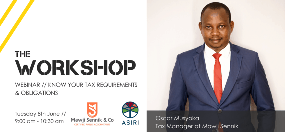 The Workshop // Boost Your Basic Tax Compliance Knowledge