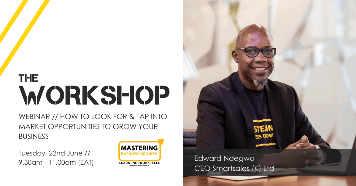 The Workshop // Tap Into Market Opportunities Successfully