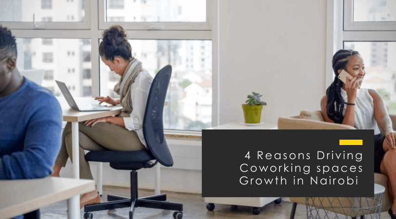 Coworking Spaces in Nairobi // 4 Exponential Growth Reasons