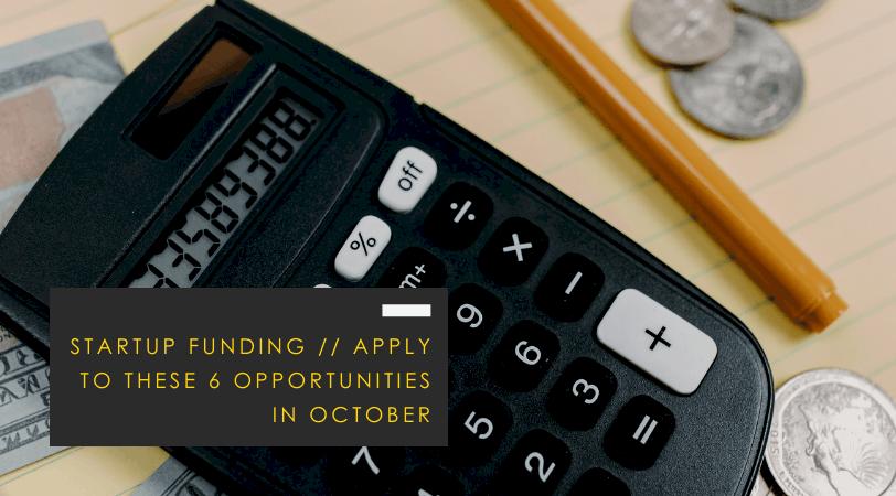 Startup Funding Opportunities
