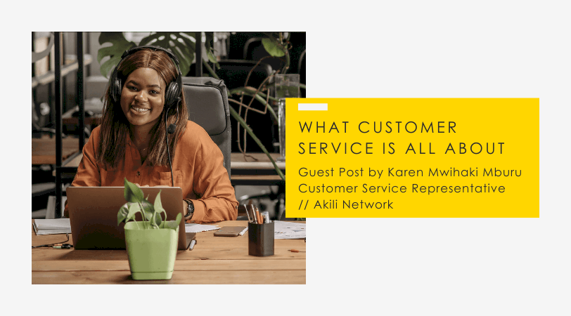 Customer Service // Hearing Less and Listening More